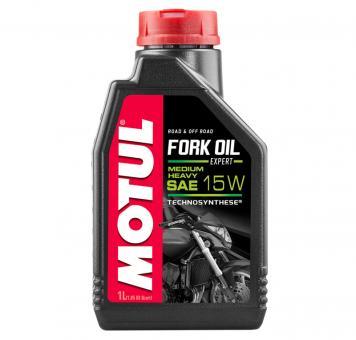 Motul Gabelöl Fork Oil Expert Heavy Medium SAE 15W synthetisch Road + Offroad 1L
