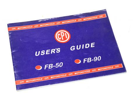 CPI FB-50 FB-90 User´s Guide english